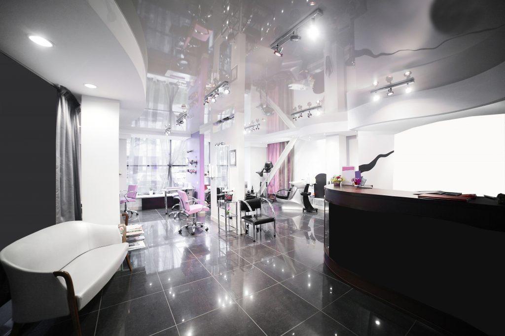 A hair and beauty salon.