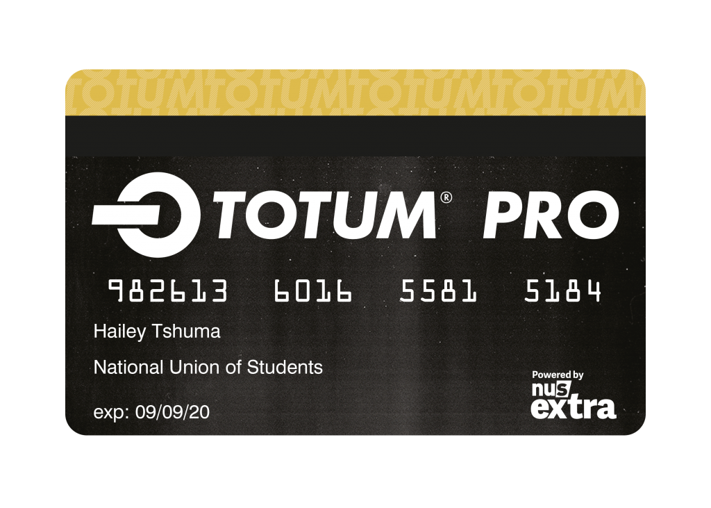 Picture of a totum card