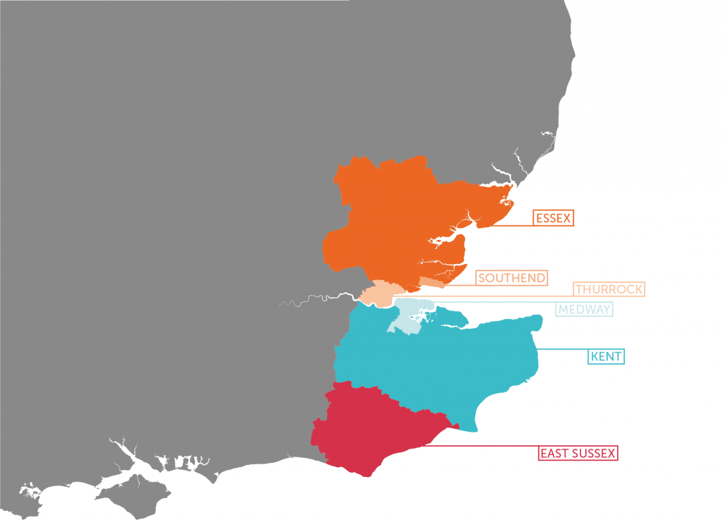 Geographical areas within the Southwest