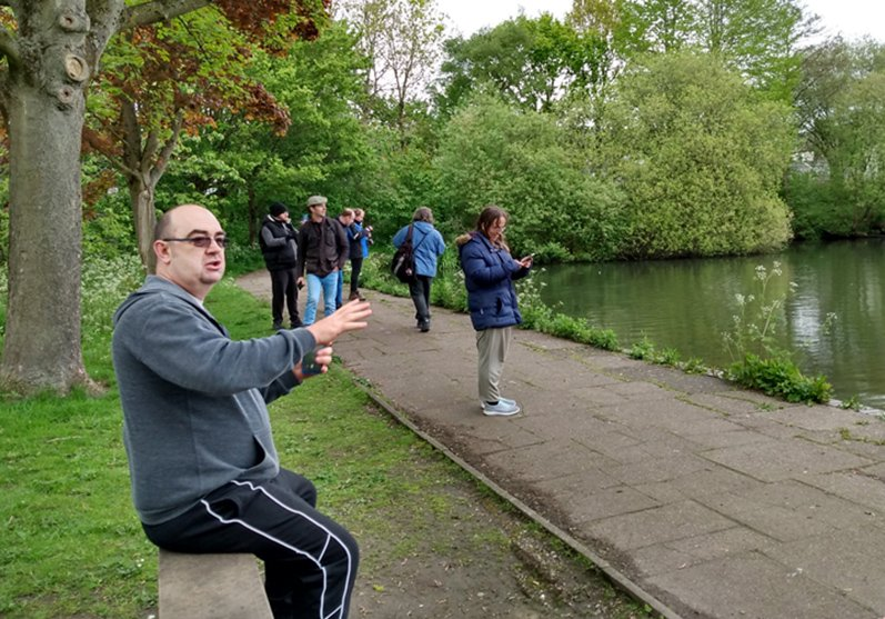 Socially Distanced Walk