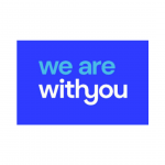 We are with you logo