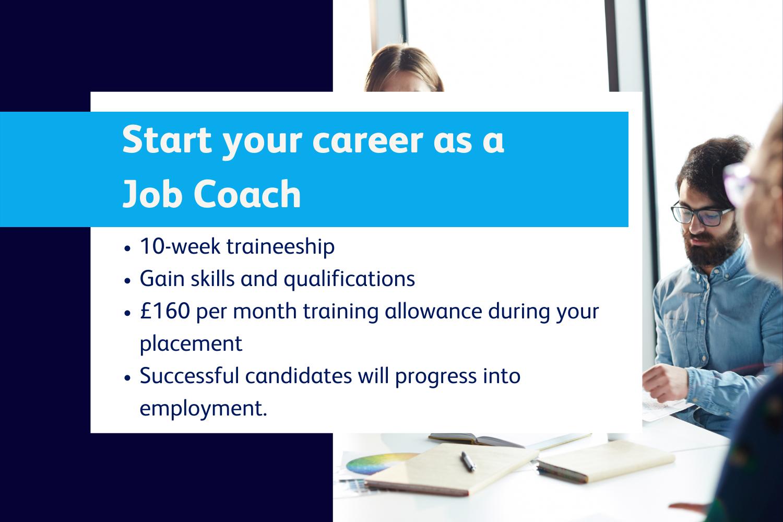 JOb coach trainee information header