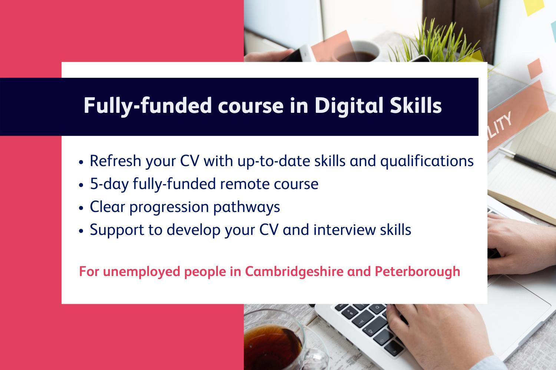 Digital skills information header